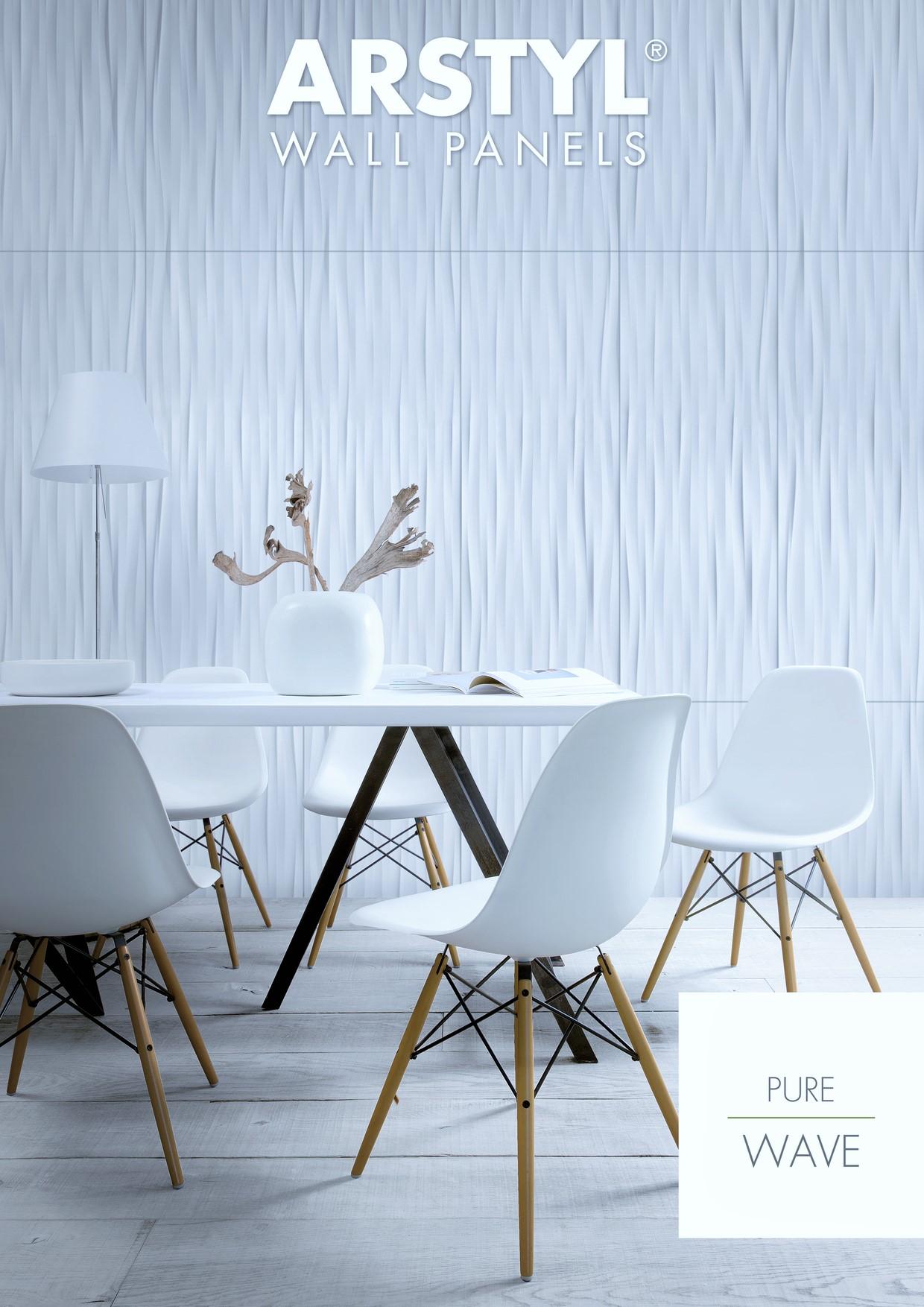 Pannello decorativo 3d arstyl wall wave - Pannello decorativo design ...