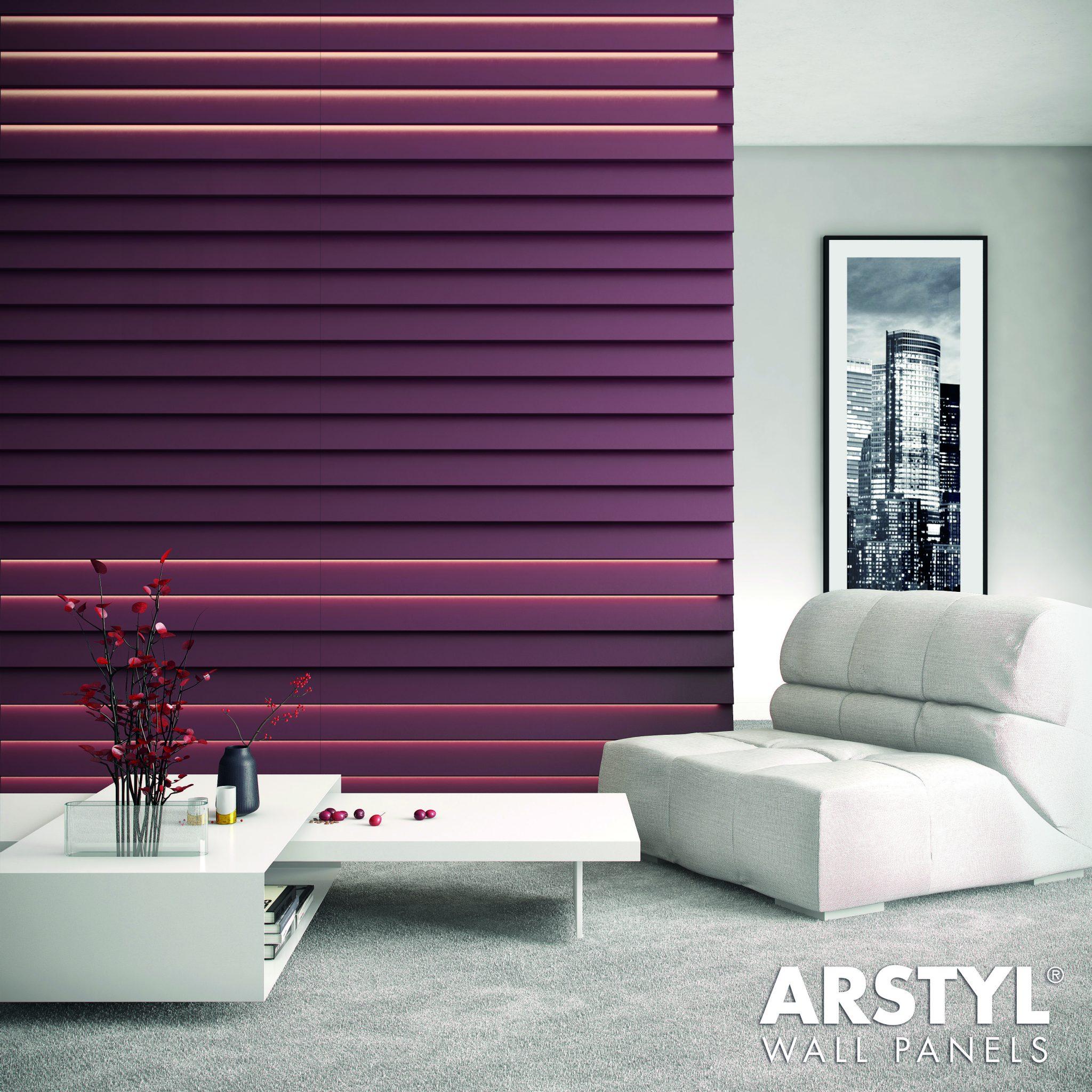 Pannello decorativo 3d arstyl wall stripe - Pannello decorativo design ...