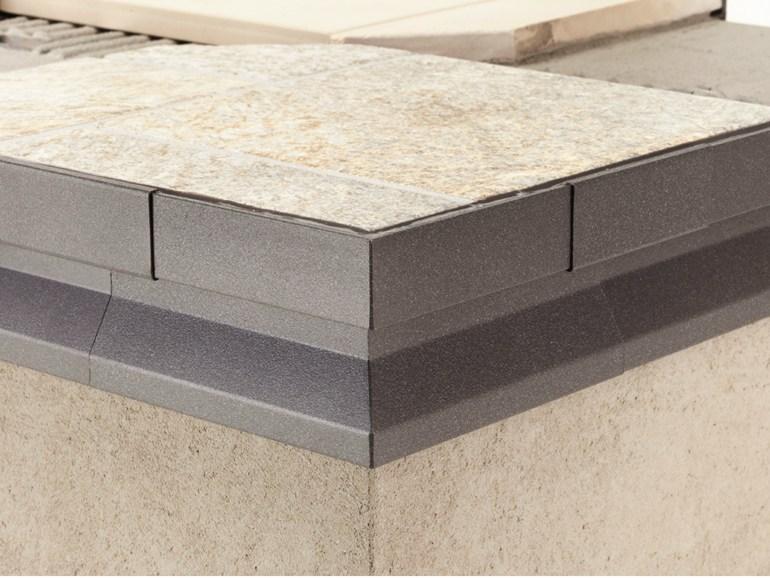 Profilo gocciolatoio protec cpgv 55 alluminio - Piastrelle per balconi ...